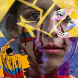 fuerzacolombia✊ s.o.s.colombia freetoedit fuerzacolombia s srcfacemasks facemasks
