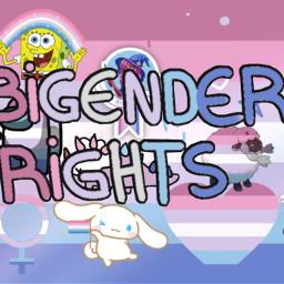 pride pridemonth bigender freetoedit