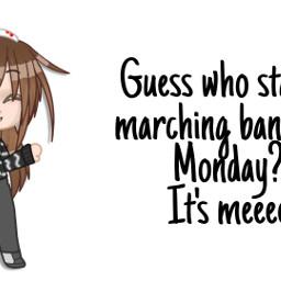 marchingband band gacha edit yeah gachaclub gachaclubedit