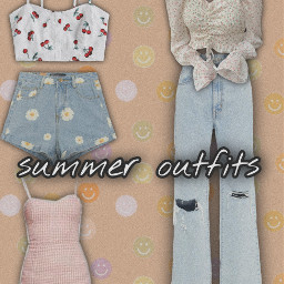 summeroutfits aesthetic freetoedit