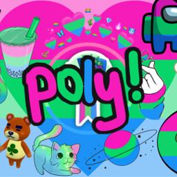 polysexual polyromantic poly pride pridemonth freetoedit