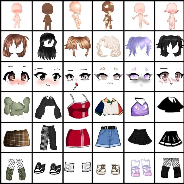 #gacha #gachalife #gachaclub #life #club #outfits #stickers #outfit #ideas #idea #outfitideas #outfitidea #hair #body #clothes #style #face