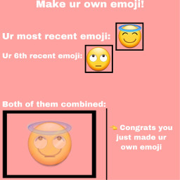 mademyownemoji emoji pink bxbblesx888 freetoedit