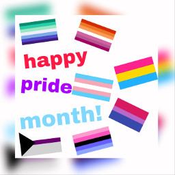 happy pride month freetoedit