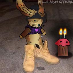 freetoedit fnaf fivenightsatfreddys fnafsecuritybreach fnafhelpwanted account glitchtrap plushie rabbit anniversary oofgang bruhzone