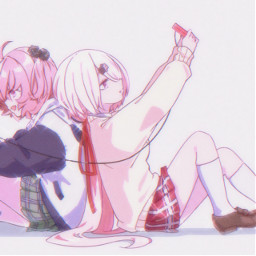 freetoedit anime matchingicons pink