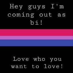 comingout bi pridemonth freetoedit