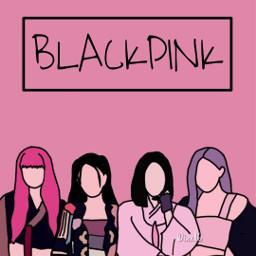 blackpink lisa jennie rośe jisoo howyoulikethat lovesickgirls prettysavage 5yearswithblackpink august blink pink ddududdudu drawing outline idol music