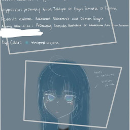drawing freetoedit bluehair