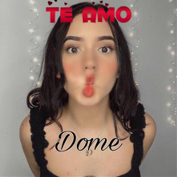 freetoedit domelipa love forever
