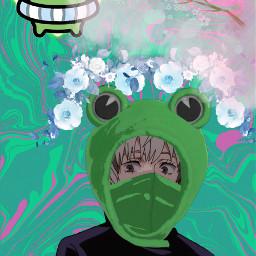 freetoedit inumaki inumakitoge froghat jjk anime blackbutler