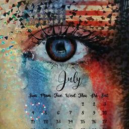 freetoedit julycalendar2021