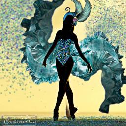 freetoedit ircdancersilhouette dancersilhouette
