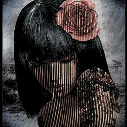 art artdigital girl womanportrait woman bocetogirl chica mujerhermosa @chuliluna19 freetoedit