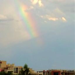 воттакаявотунаскрасота воттакаяприроднаякрасота красота радуга реальность рааадуга улица болгария небо облака