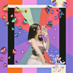 freetoedit colorful colors selfie takephoto