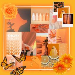 fundo background collage aesthetic tumblr orange laranja orangeisthenewblack orangevibes freetoedit