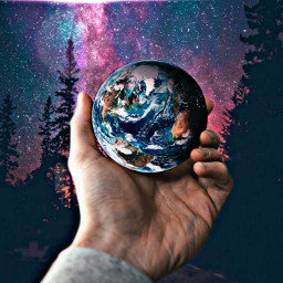 freetoedit earth universe mothernature love irccircleinmyhand circleinmyhand