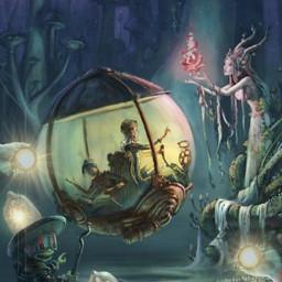 freetoedit desafio challenge fantasia luzes liglights fantasy fairy crianças irccircleinmyhand circleinmyhand