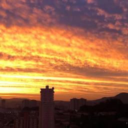 remixit freetoedit sbelias ceu nuvens natureza pordosol paisagem pcskyandclouds skyandclouds