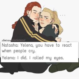 marvel natasharomanoff yelenabelova