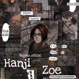 hanji hanjizoe hangezoe hange attackontitan attack_on_titan attackontitanedit anime animeedit animeicon animewallpaper ханджи ханджизои аниме анимеэстетика анимеэдит анимеобои freetoedit