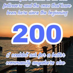 freetoedit 200followers thankyou