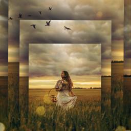freetoedit surreal photomanipulation edited drawtools curvestool landscape madewithpicsart