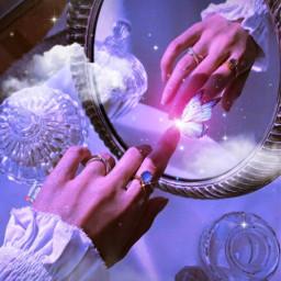 aesthetic aestheticedit aesthetics aestheticwallpaper wallpaper background purple pink aestheticpink makeawesome aestheticpurple papicks heypicsart picsart butterfly butterflies glitter sparkle girly magical clouds cloud vintage mirror mirrorart freetoedit