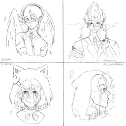 art drawing oc sketch