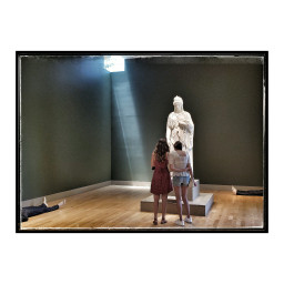 huntingtonlibrary museum sculpture lightandshadow art attheh