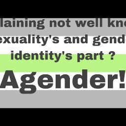 freetoedit agender genderidentity nonbinary pride lgbtq lgbt lgbtqpride