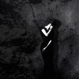 freetoedit woman blackbird darknessandlight