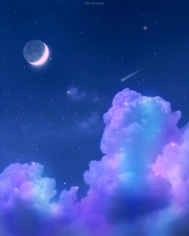 •𝐂𝐥𝐨𝐮𝐝𝐬 𝐜𝐨𝐦𝐞 𝐟𝐥𝐨𝐚𝐭𝐢𝐧𝐠 𝐢𝐧𝐭𝐨 𝐦𝐲 𝐥𝐢𝐟𝐞, 𝐧𝐨 𝐥𝐨𝐧𝐠𝐞𝐫 𝐭𝐨 𝐜𝐚𝐫𝐫𝐲 𝐫𝐚𝐢𝐧 𝐨𝐫 𝐮𝐬𝐡𝐞𝐫 𝐬𝐭𝐨𝐫𝐦, 𝐛𝐮𝐭 𝐭𝐨 𝐚𝐝𝐝 𝐜𝐨𝐥𝐨𝐫 𝐭𝐨 𝐦𝐲 𝐬𝐮𝐧𝐬𝐞𝐭 𝐬𝐤𝐲•☁️🌙💙 -Rabindranath Tagore  Happy sunday to all ❤   #sky #heaven #clouds #moon #stars #rainbow #night #aesthetic #aestheticwallpaper #aestheticedit #aestheticsky #beautiful #background #galaxy #imagineabrighterreality #surreal #remixit #freetoedit #gacha #wallpaper #purple #blue #blueaesthetic #purpleaesthetic   @picsart