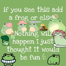 freetoedit frogggg