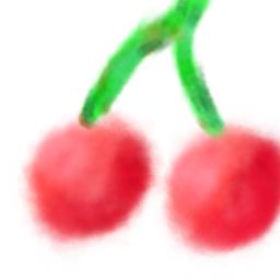 watercolor watercolorart fruitwatercolor cherry
