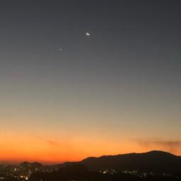 freetoedit remixit sbelias pordosol ceu lua universo planeta paisagem janela pcskyandclouds skyandclouds
