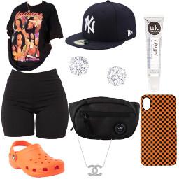 freetoedit simple baddie cute orange black aaliyah croc newyork diamond girlfriend single taken interesting outfit fit clothes