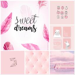 pink pinkaesthetic pastel sweetdream dream animal cutee train lusynda9 ccpinkaesthetic2021 pinkaesthetic2021