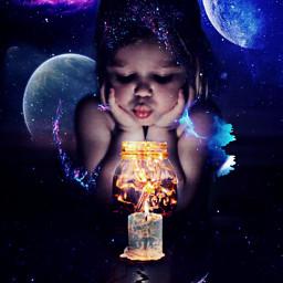 space planets sky nightsky candle light moon galaxy challengepicsart heypicsart pirasisproyo girl fire nighttimevibes freetoedit ircthemagicjar themagicjar