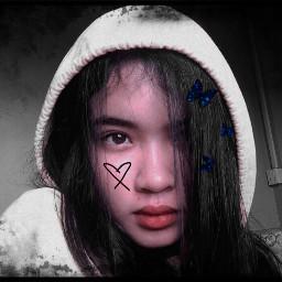 pic edit heart black freetoedit