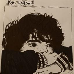 finnwolfhard drawing