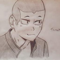 tanaka ryunosuke ryuunosuketanaka tanakaryuunosuke anime haikyuu haikyū draw