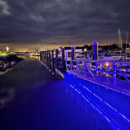 nighttime night harbor nightlive