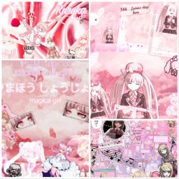 freetoedit pinkaesthetic kaede ruruka kotoko magicalgirl edit animeedit ccpinkaesthetic2021 pinkaesthetic2021