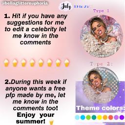 freetoedit note bellahadid bella hadid request pfp picsart glitter complex famous summer week repost