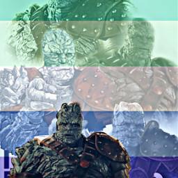 freetoedit korg thor ragnarok thorragnarok gay gayflag mlm mlmflag marvel avengers revengers mcu