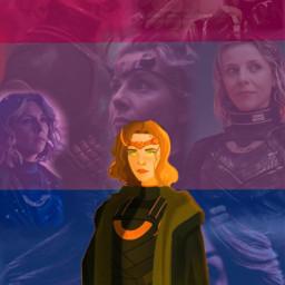freetoedit sylvie loki bisexual bisexualflag marvel avengers lokiseries sylvielaufeydottir
