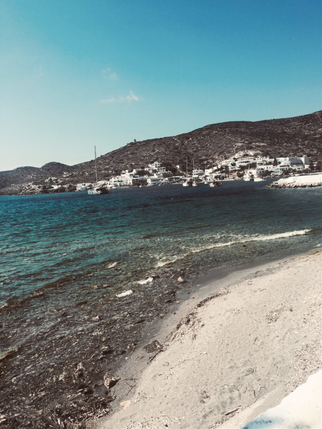 #greece #ocean #beach #island #myownpic