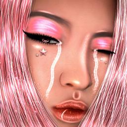 freetoedit ryujin ryujin_itzy ryujinedit itzy manipulation pink manipulationedit pastel_taekook remixme